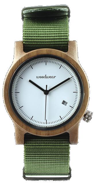 Woodwear Dámské hodinky dřevěné SPECTRO - Khaki WW43