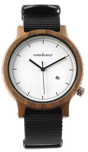 Woodwear Pánské hodinky dřevěné SPECTRO - Black WW44