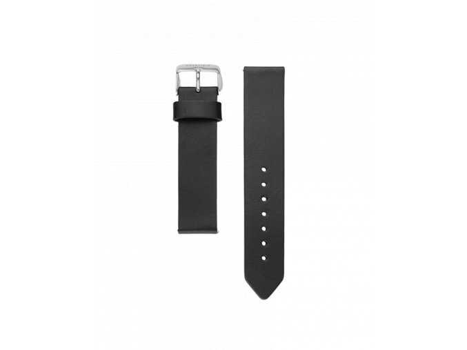 black leather strap silve women watches gramercy 2000x