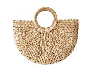 Pletená slaměná taška