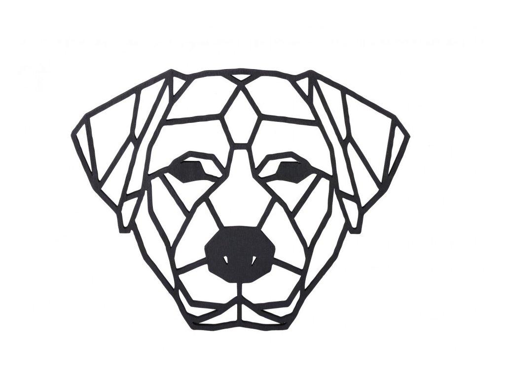 dreveny geometricky obraz labradorsky retrivr n 1000x665