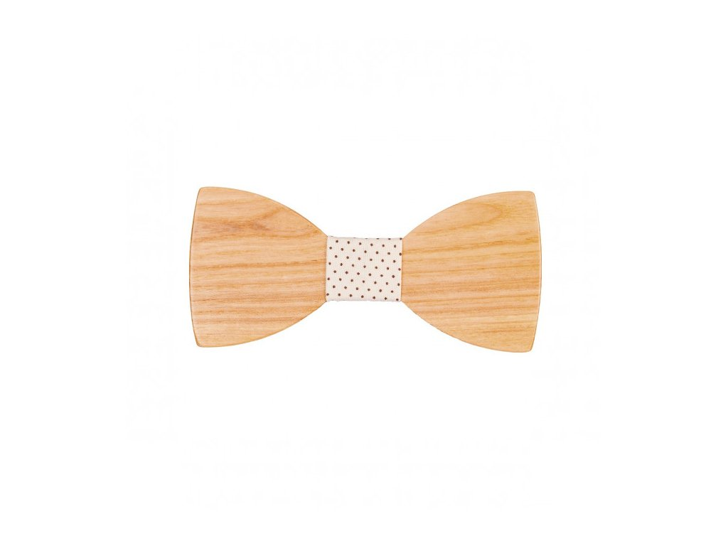 Dřevěný motýlek 12