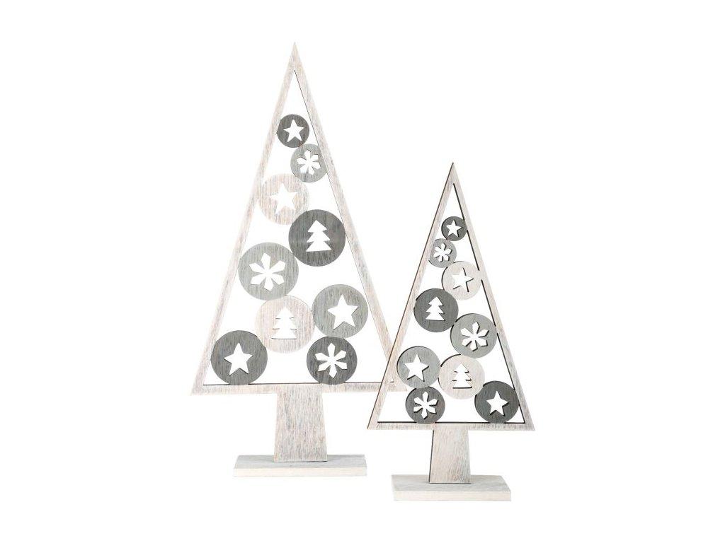 10206 dekobaum weihnachtsmotiv 2er set