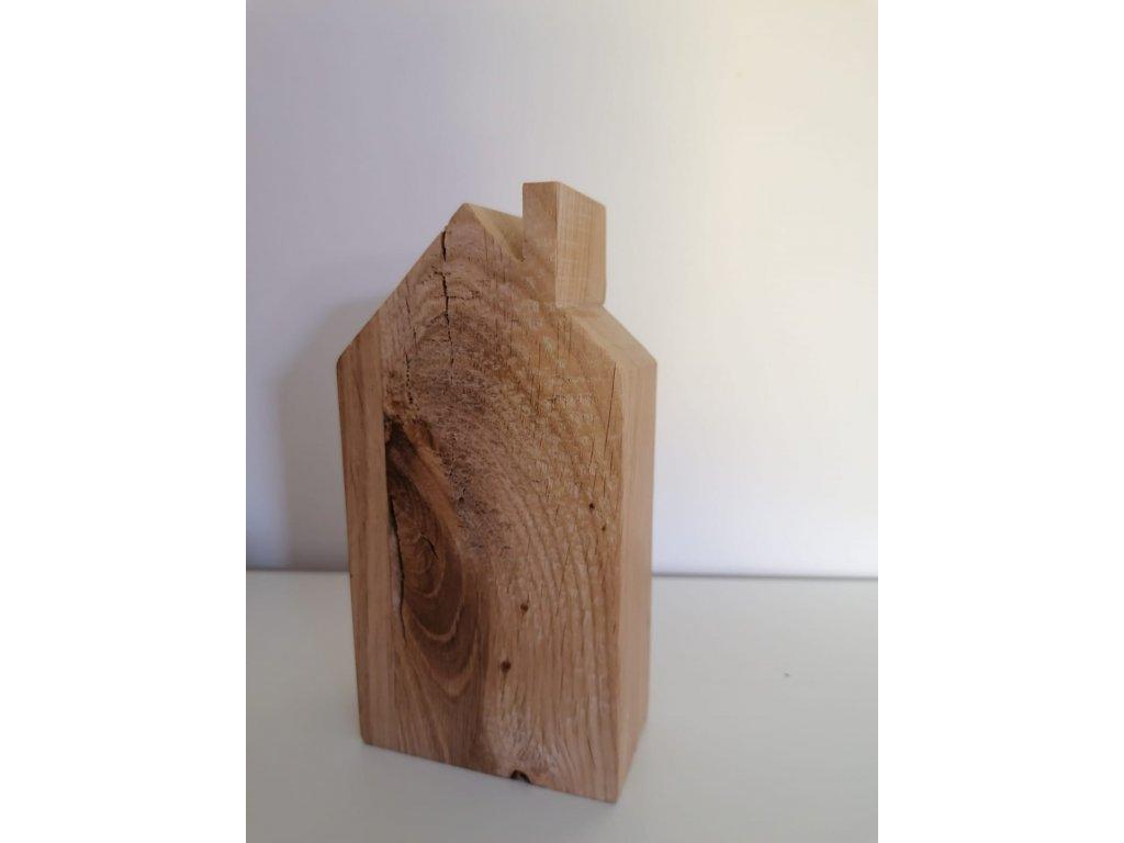 Dřevěný domeček 14x7,5x4 cm
