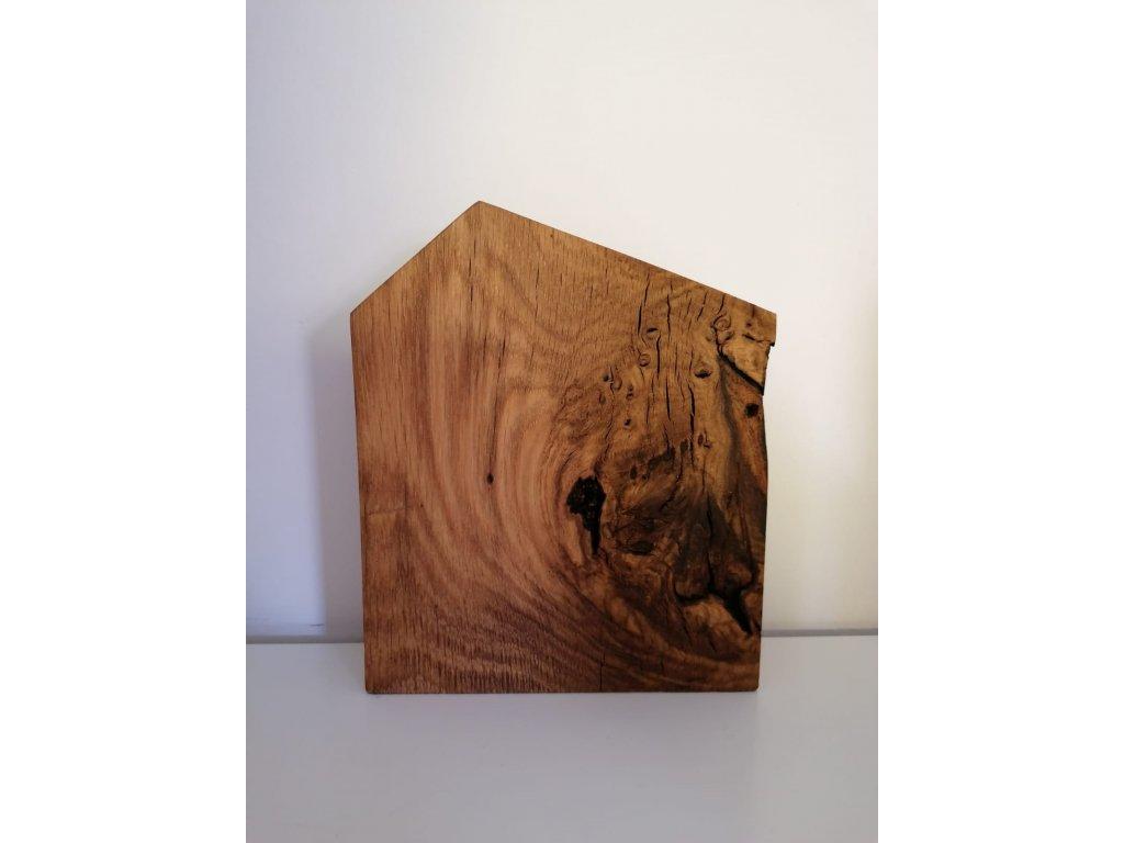Dřevěný domeček 16x13x4 cm