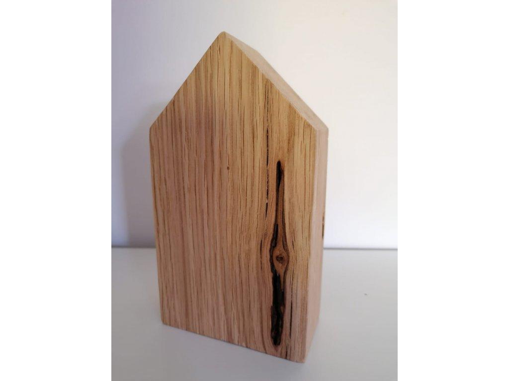 Dřevěný domeček 16x9x4 cm