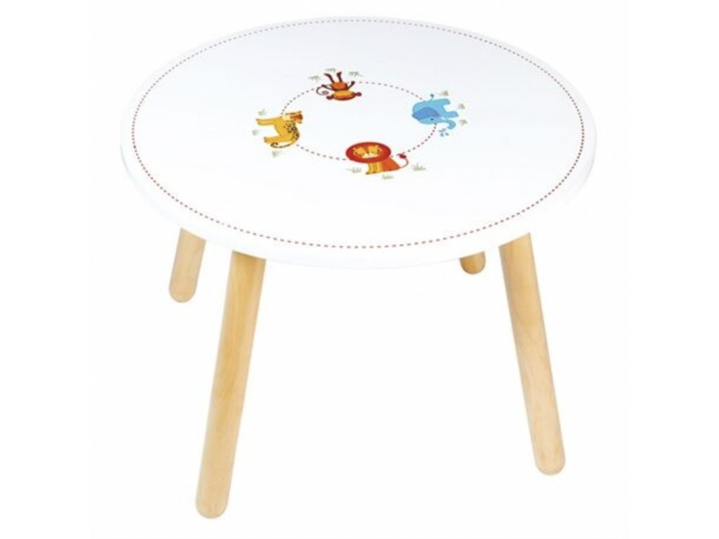 Dřevěný stůl Animal