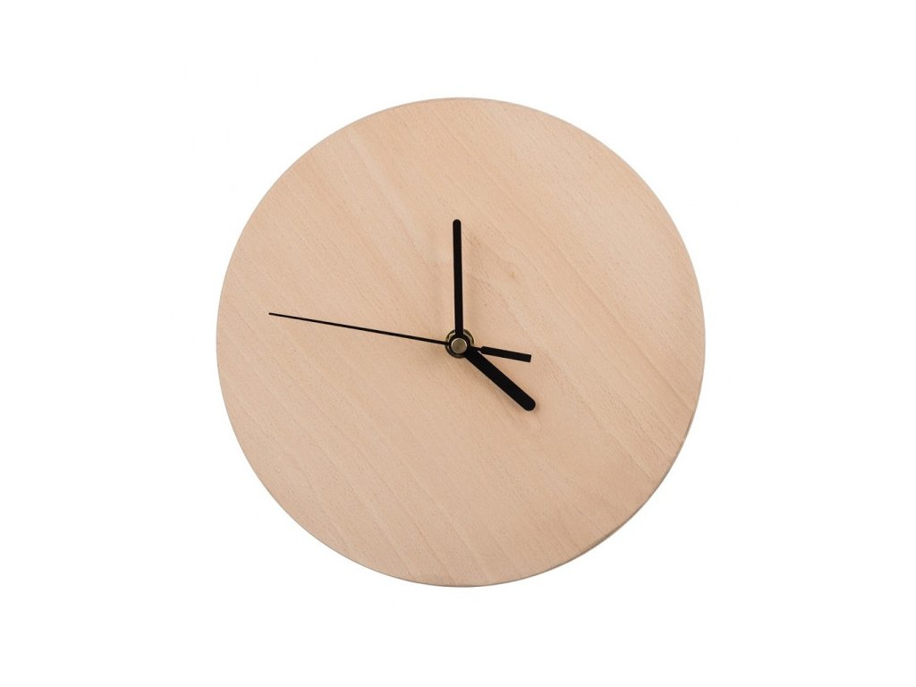 Dřevěné nástěnné hodiny 22 cm