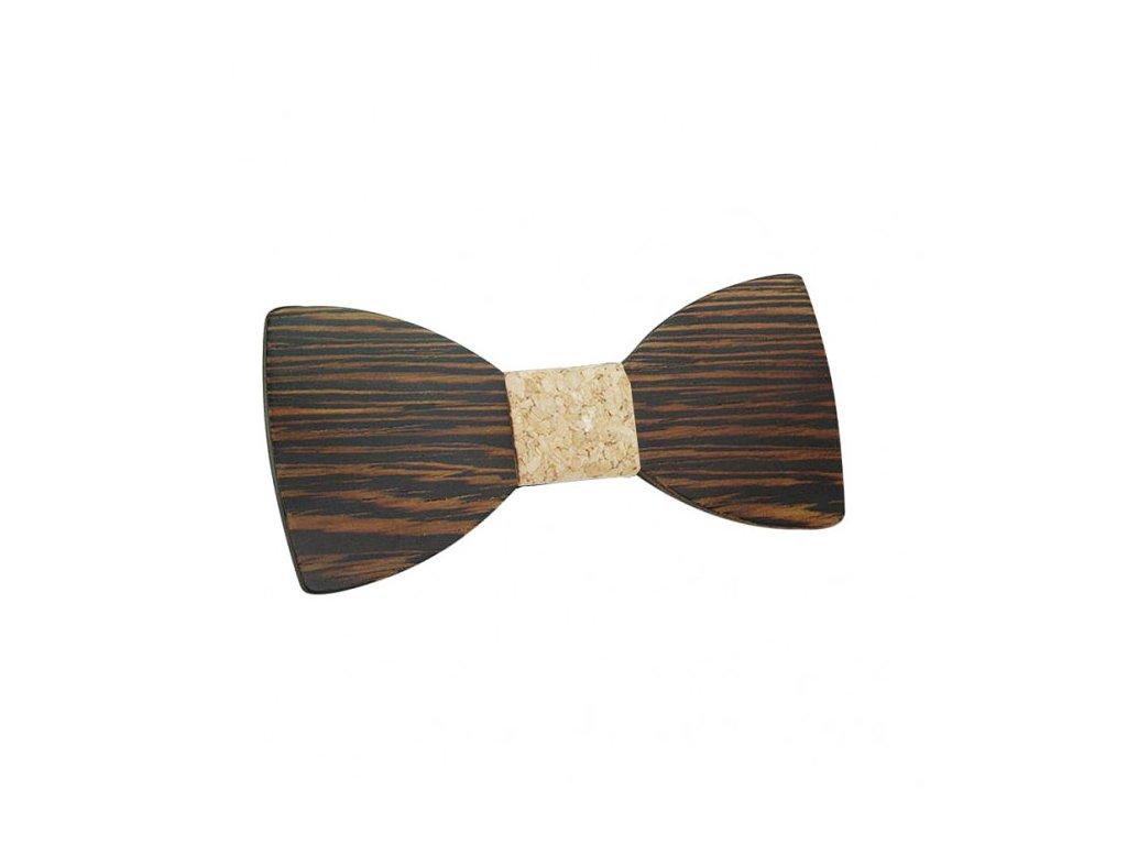 Dřevěný motýlek