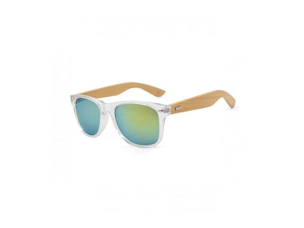 Dřevěné sluneční brýle 6