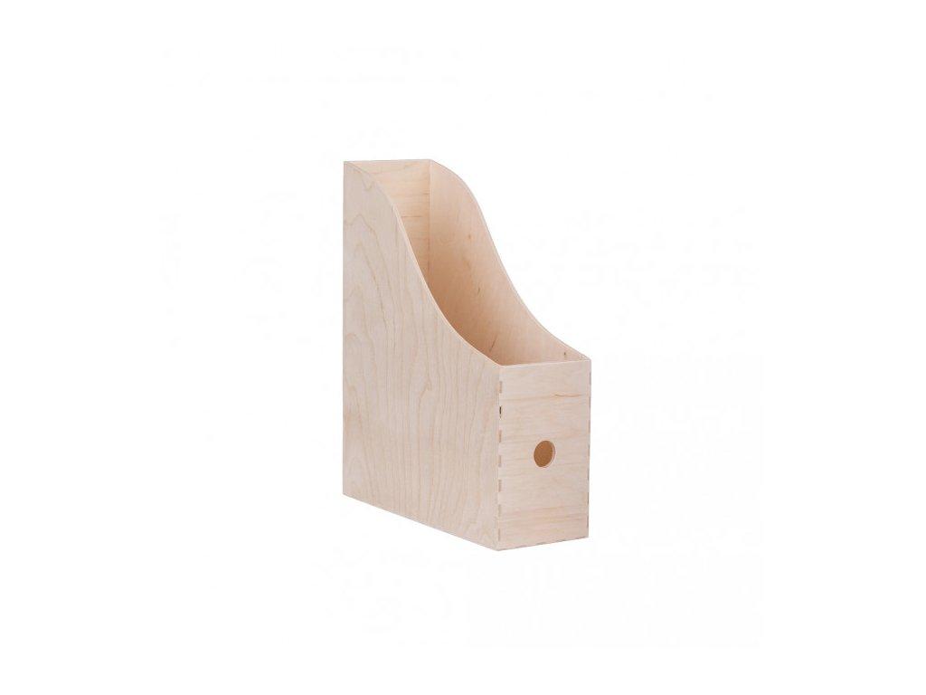 Dřevěný pořadač na dokumenty