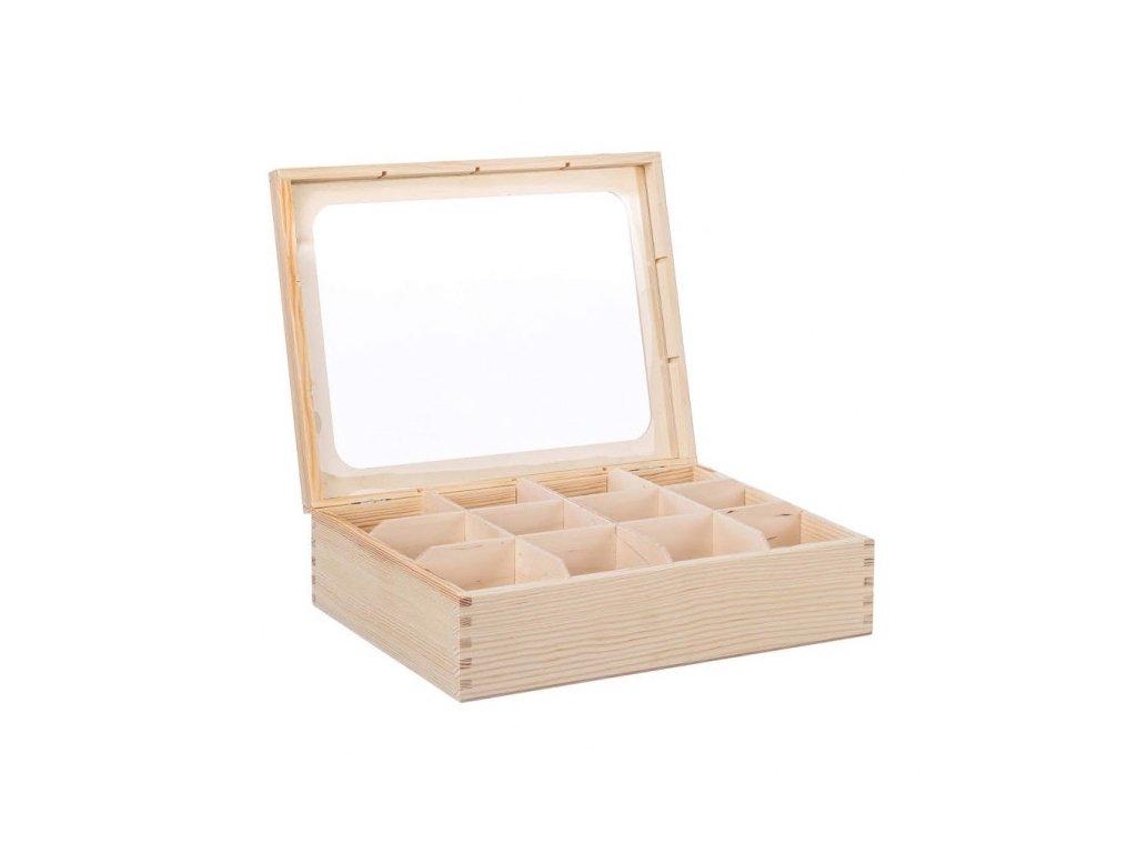 drevena krabicka s plexisklem 12 prihradek 1 1000x665