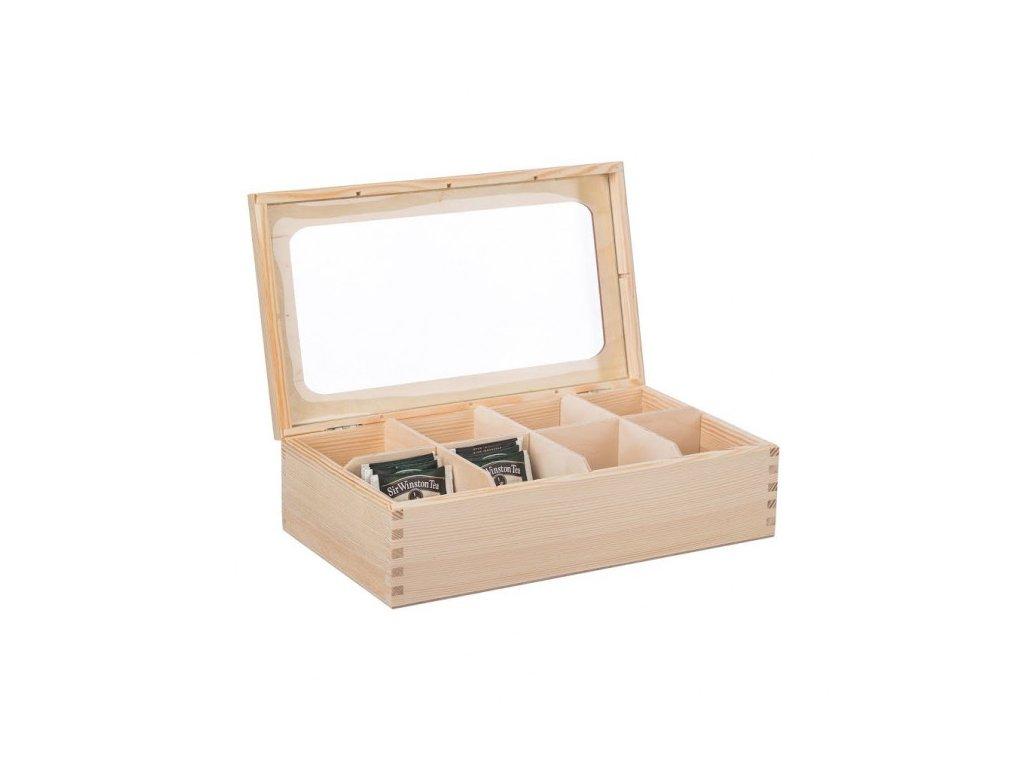 drevena krabicka s plexisklem 8 prihradek 1 1000x665