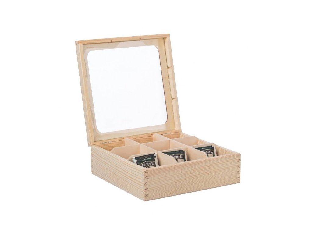 drevena krabicka s plexisklem 9 prihradek 1 1000x665