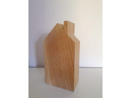 Dřevěný domek 14x7,5x4 cm