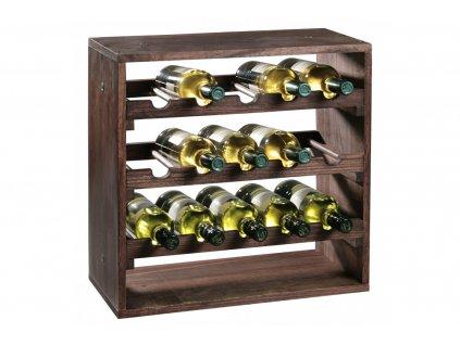 Borovicový stojan na víno