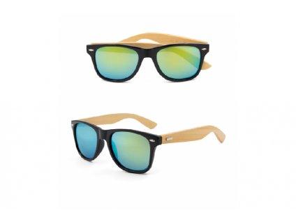 Dřevěné sluneční brýle 2