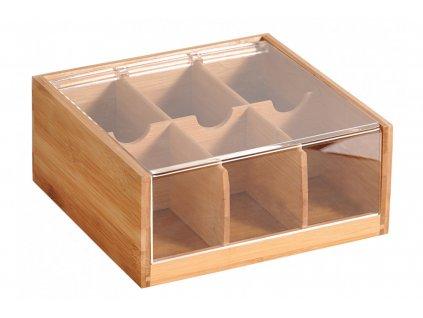 Bambusový box na čaj