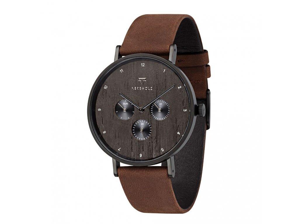 Dřevěné pánské hodinky