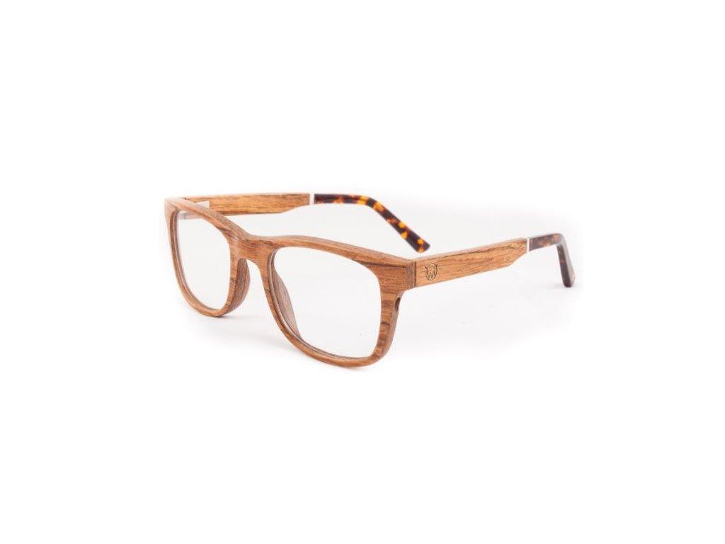 Brýle dioptrické zebrano