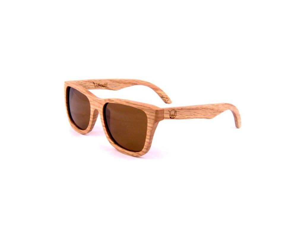 Sluneční brýle Dubové
