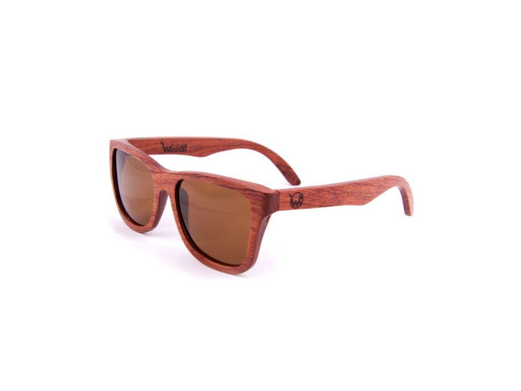 Sluneční brýle Palisandrové