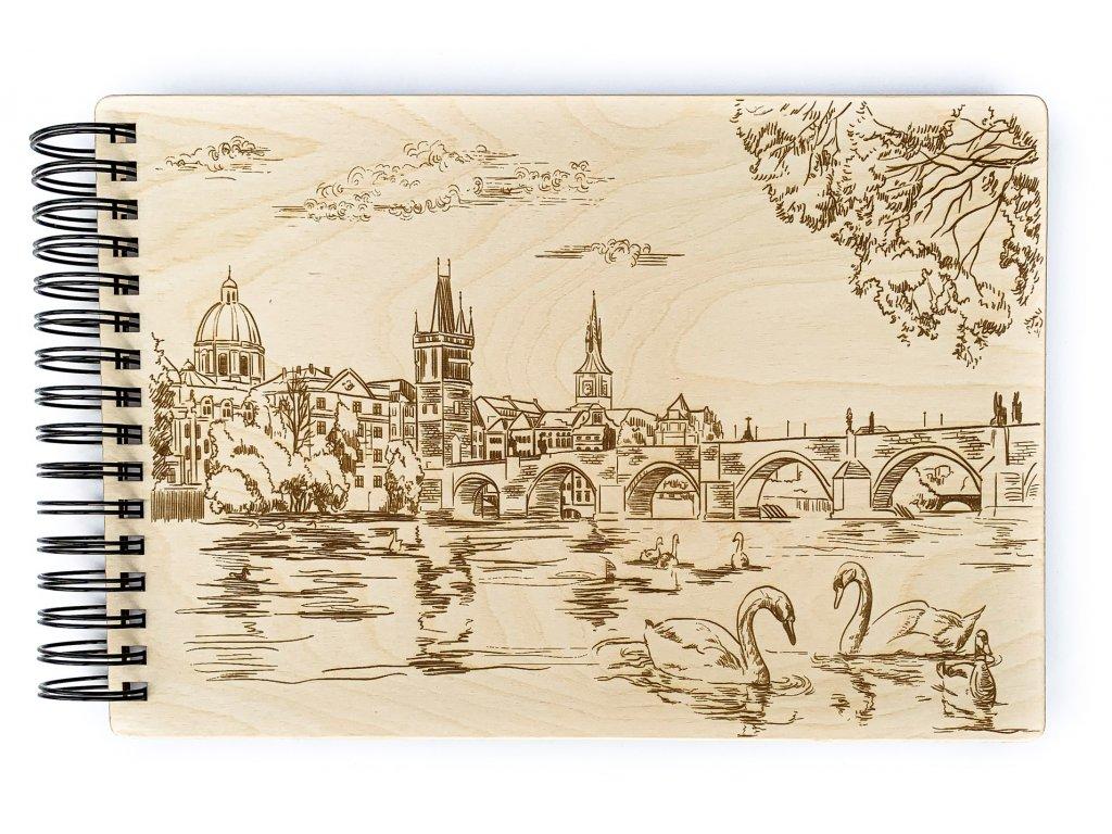 Dřevené fotoalbum Praha 3