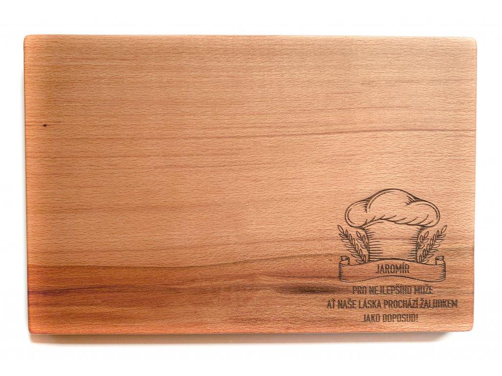 Dřevěné prkénko ČEPICE