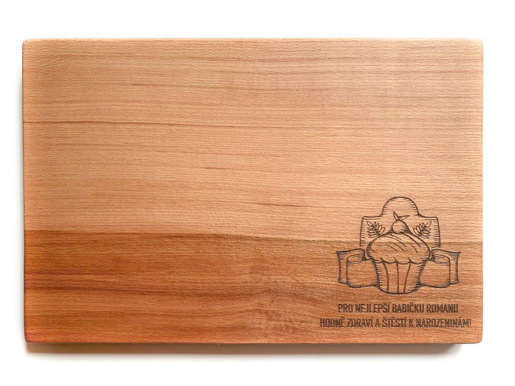 Dřevěné prkénko DORTÍK