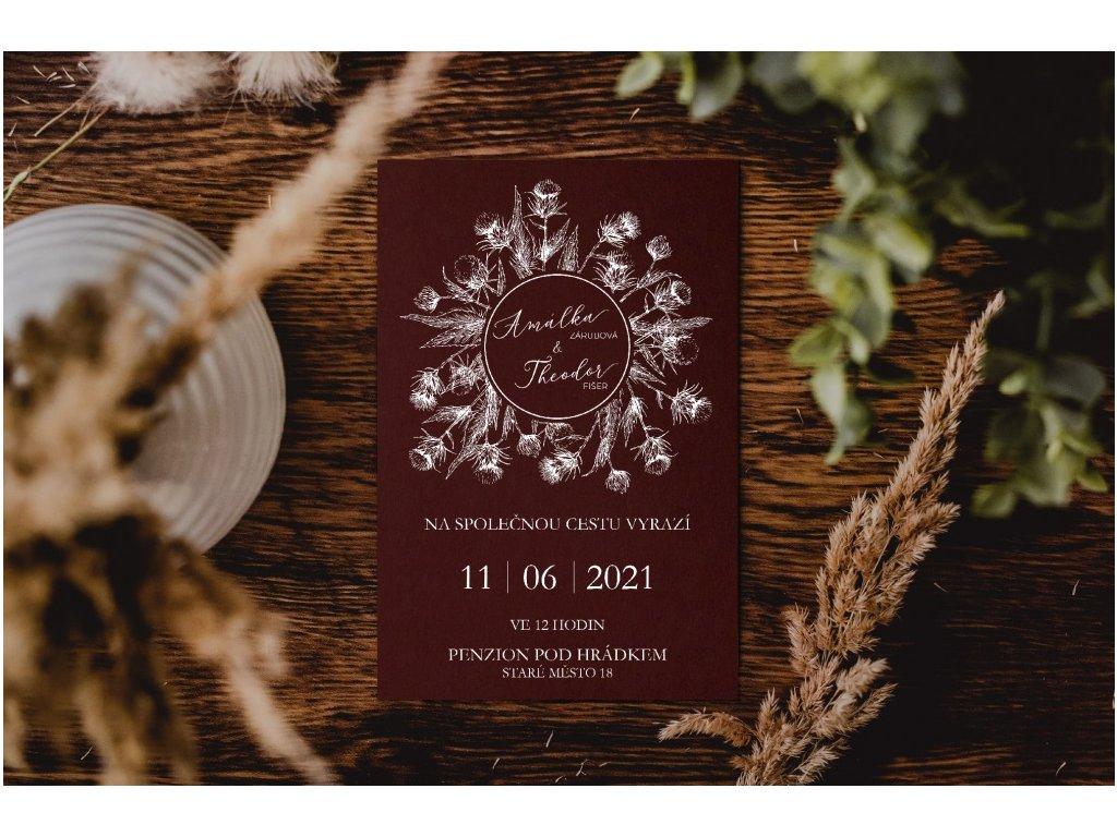 Svatební oznámení #7