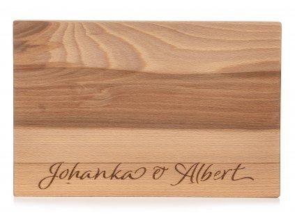 Dřevěné kuchyňské prkénko KLASIC