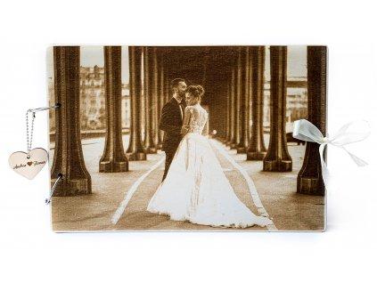 Svatební kniha hostů FOTO