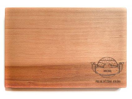Dřevěné prkénko DONUT