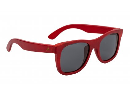holzkitz sonnenbrille holz rot zuckerhütl 3 side