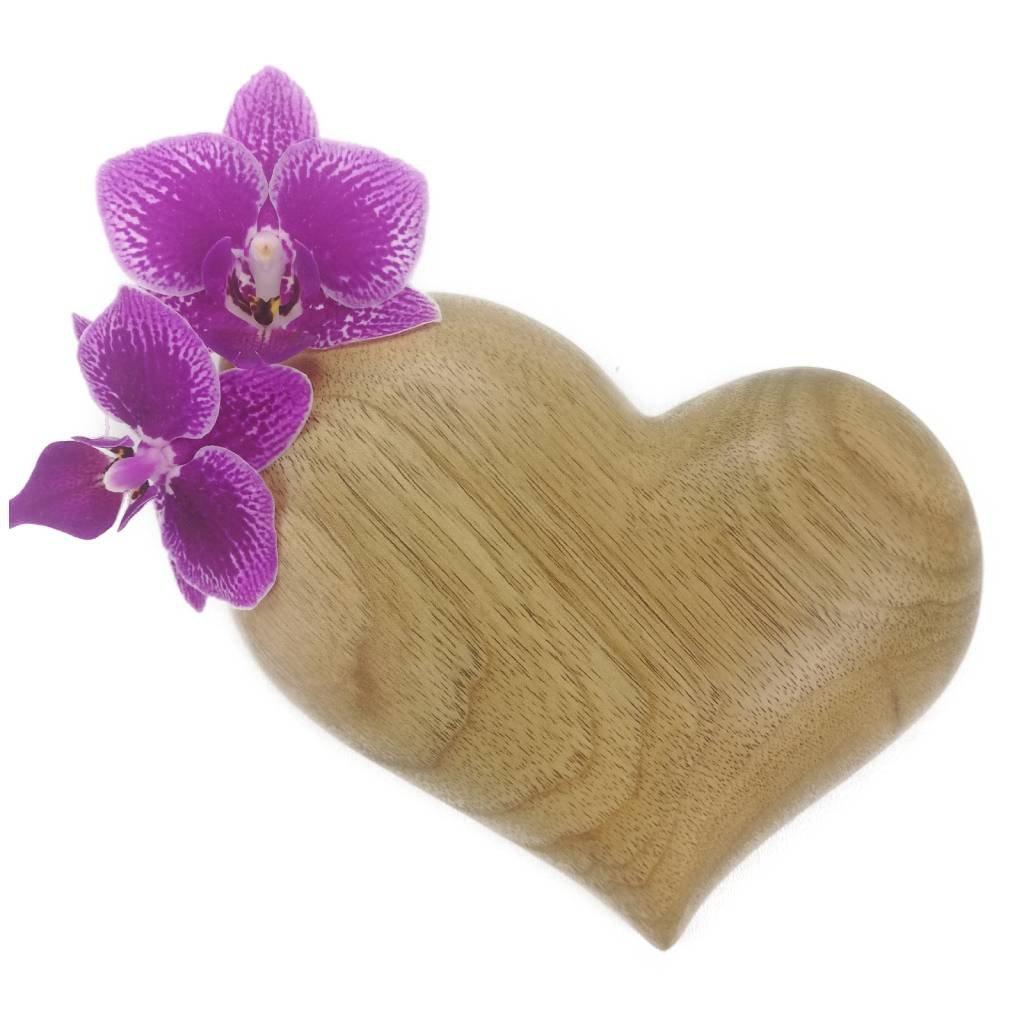 Dřevěná váza na magnet Angelika