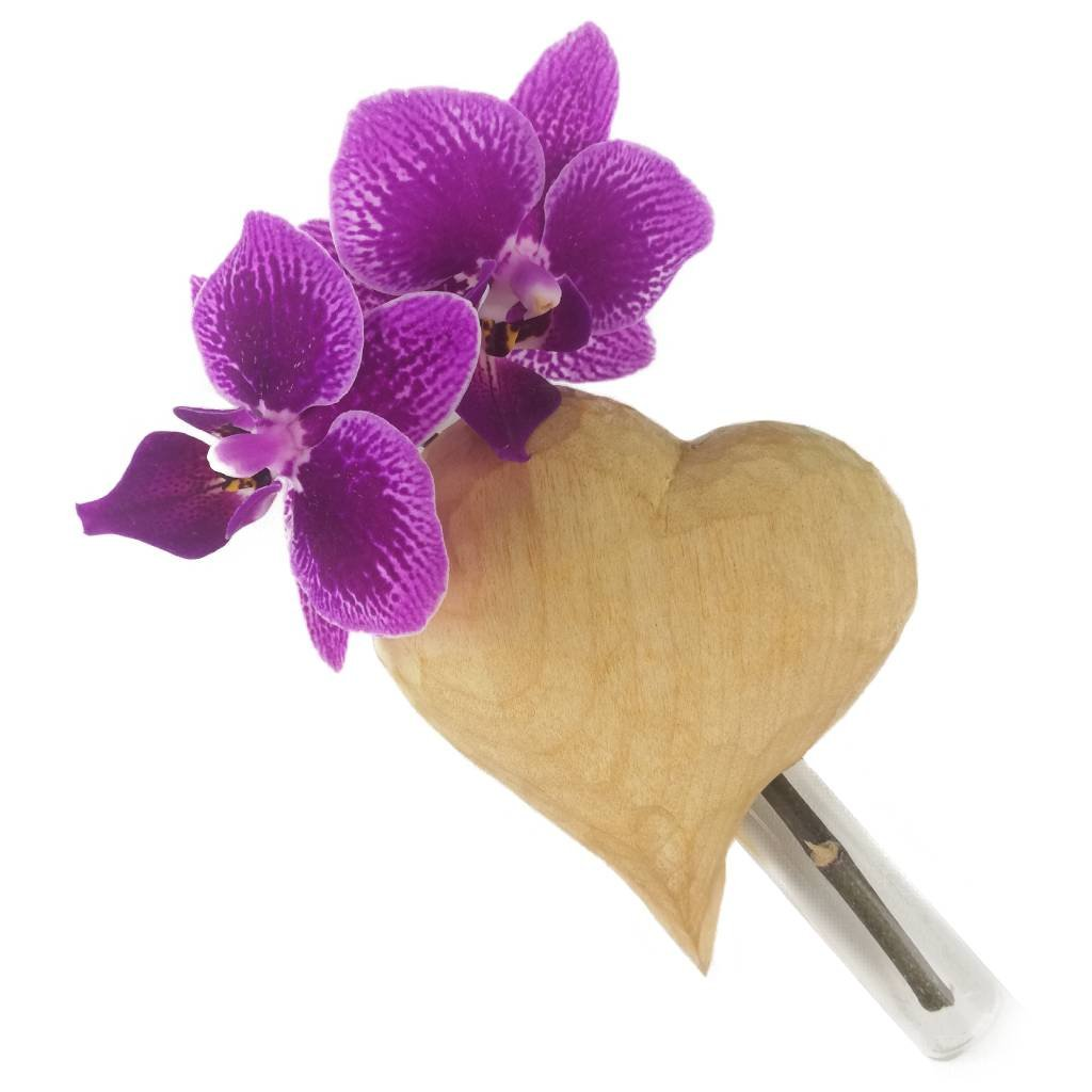 Dřevěná váza na magnet Alisa