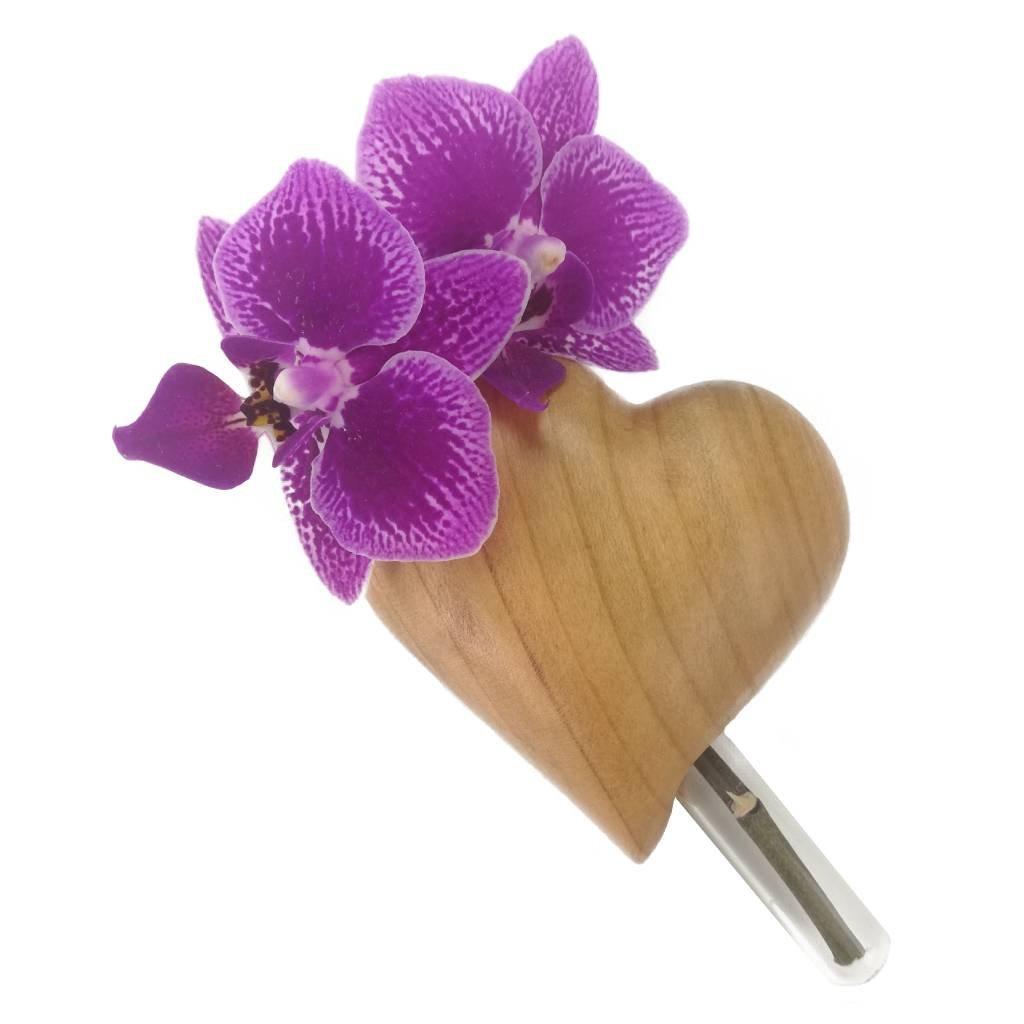 Dřevěná váza na magnet Jasmina