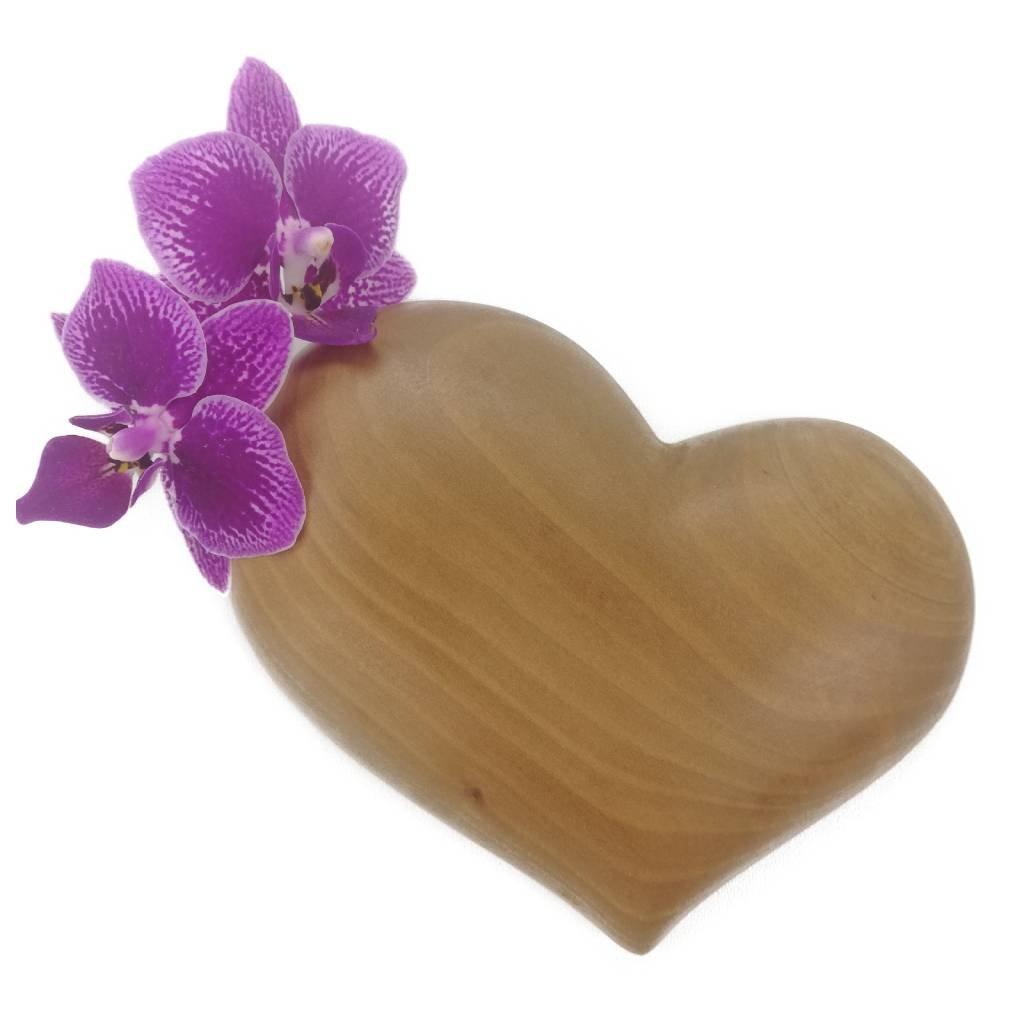 Dřevěná váza na magnet Kate