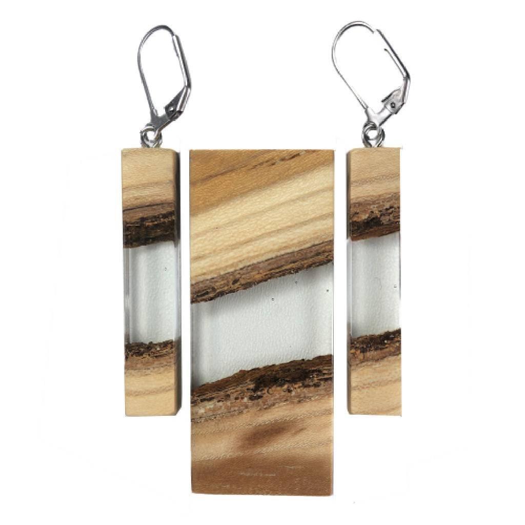 Dřevěná sada šperků Vayne