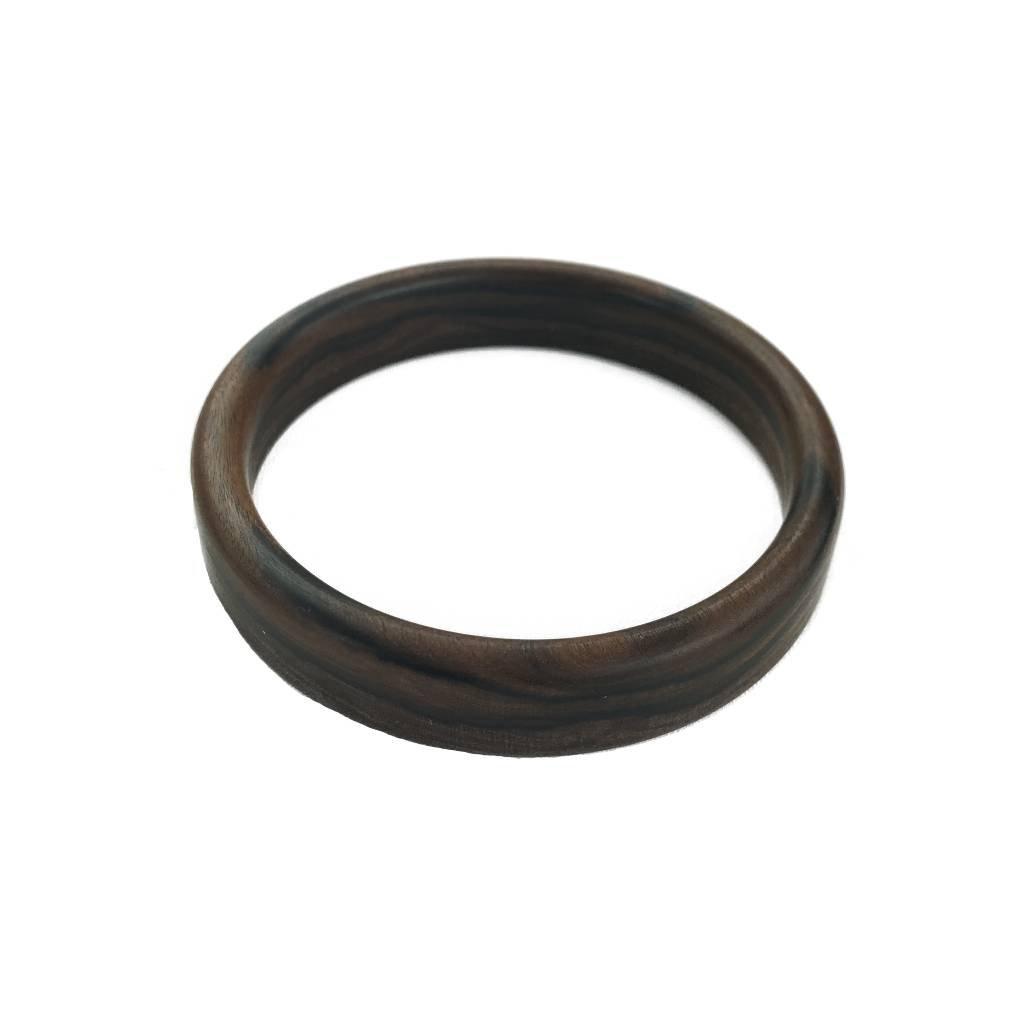 Dámský dřevěný náramek 1,8 cm Zuzie, palisandr