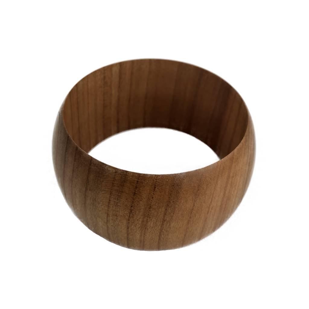 Dámský dřevěný náramek 3,8 cm Hayle, třešeň