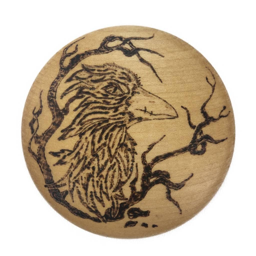 Dřevěný otvírák na pivo Eagle, javor