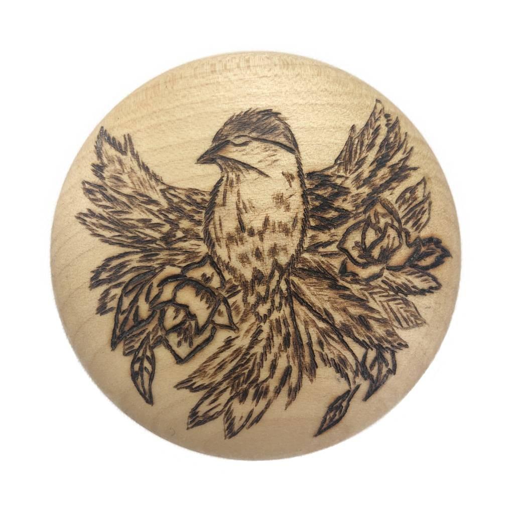 Dřevěný otvírák na pivo Birdie, javor