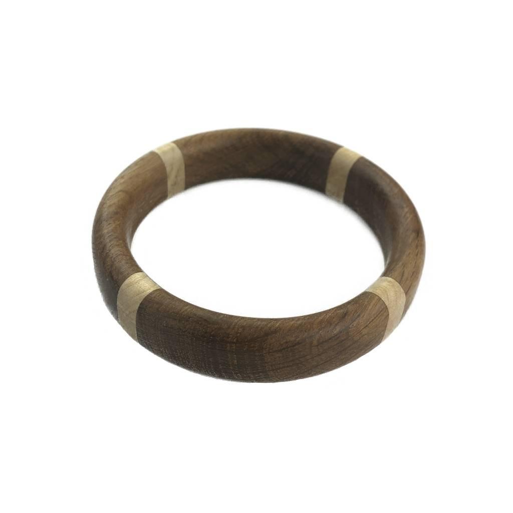Dámský dřevěný náramek 1,8 cm Harper