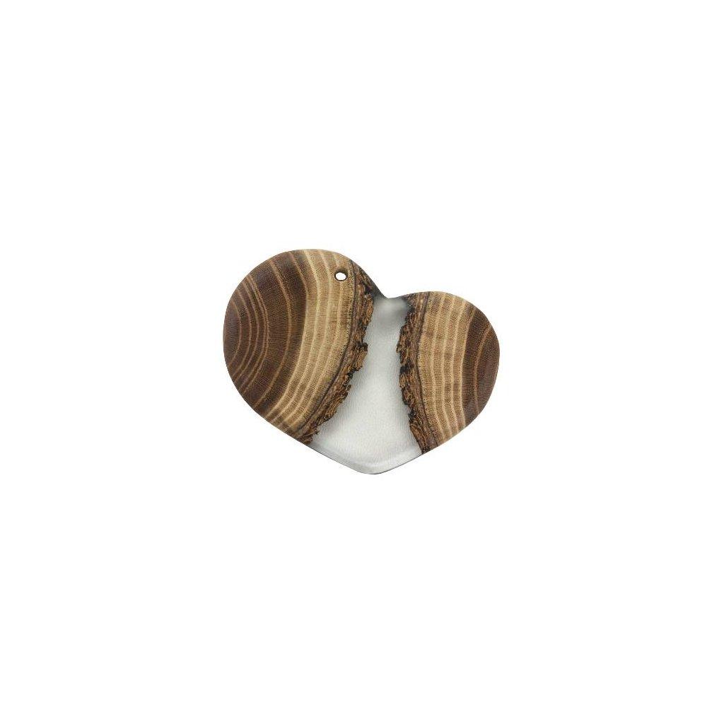 Dřevěný přívěšek na krk Jacob