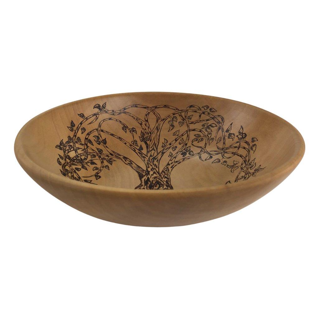 Dřevěná miska Tree of life, javor