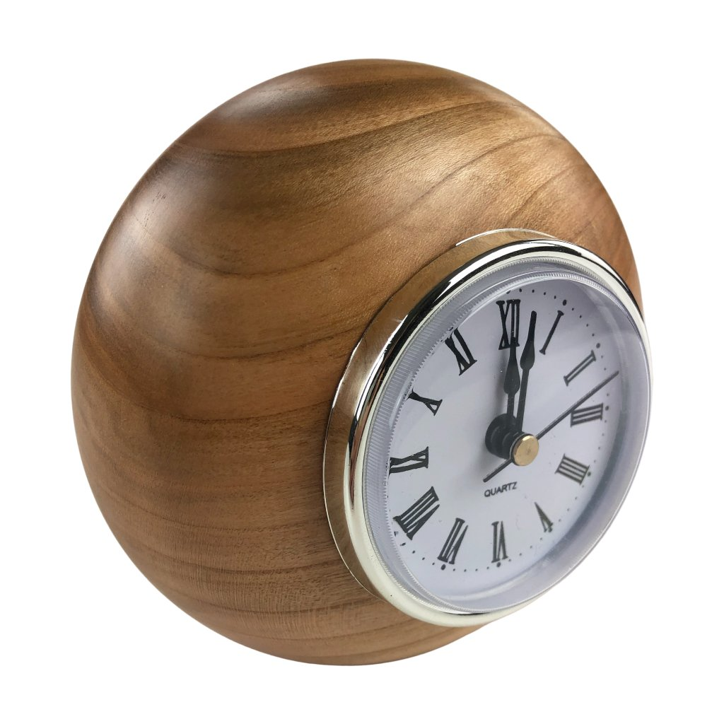 Dřevěné stolní hodiny Rivela