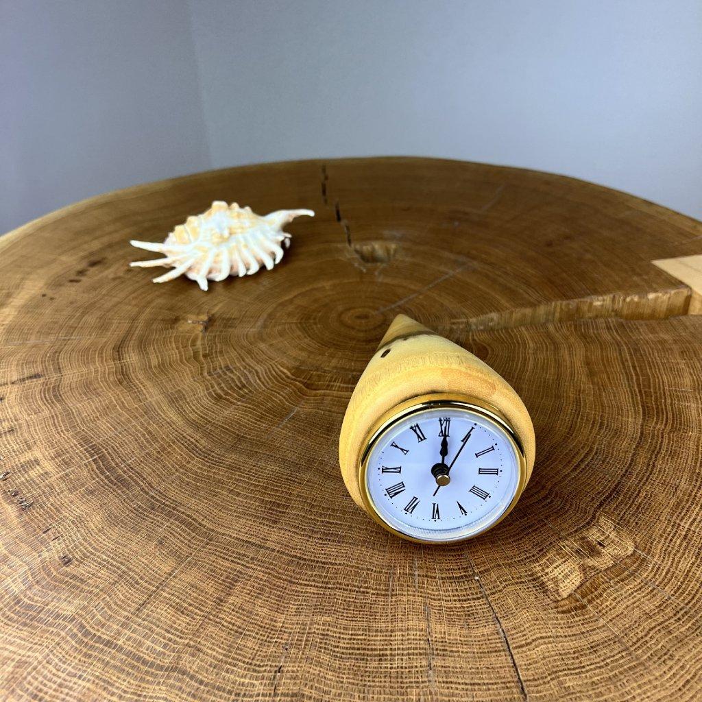 Dřevěné stolní hodiny Viola