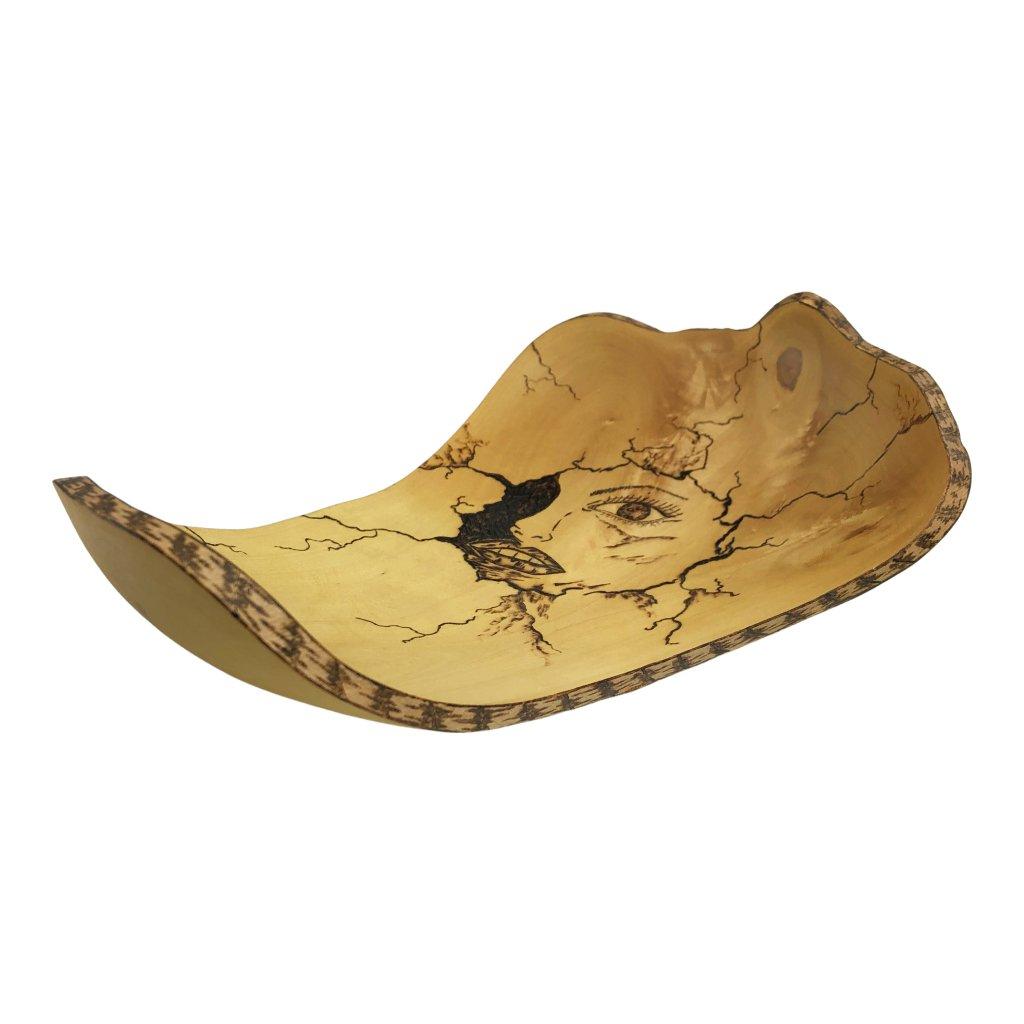 Dřevěná miska Scarface, javor
