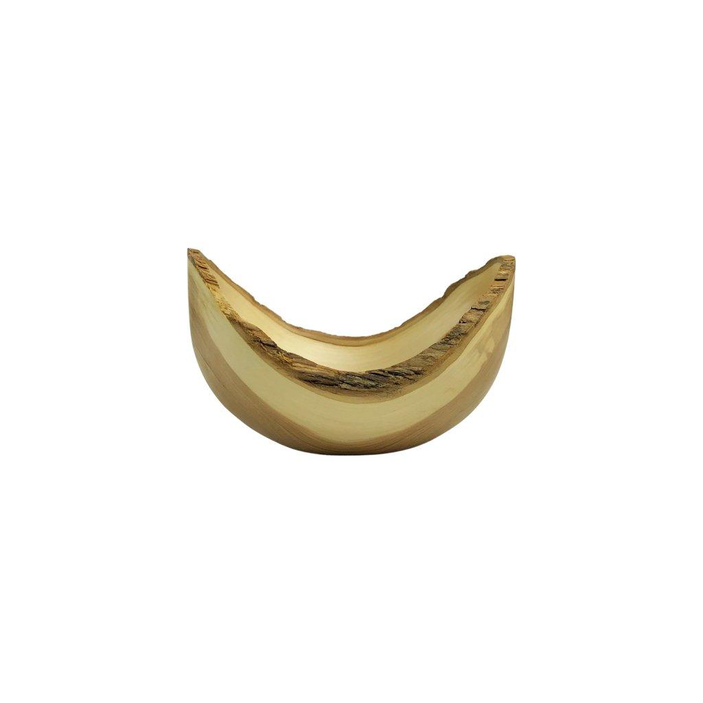 Dřevěná miska Graysen, šeřík
